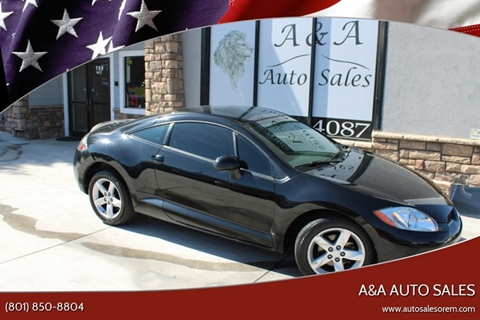 2008 Mitsubishi Eclipse GS for sale at A&A Auto Sales in Orem UT