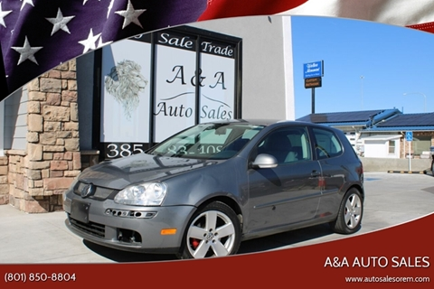 2009 Volkswagen Rabbit S for sale at A&A Auto Sales in Orem UT