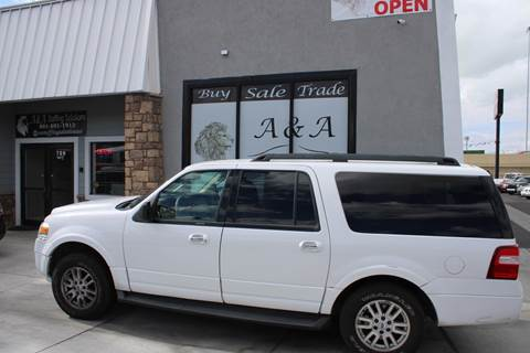 2012 Ford Expedition EL XLT for sale at A&A Auto Sales in Orem UT