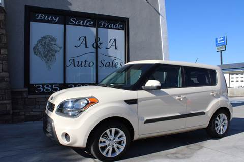 2013 Kia Soul ! for sale at A&A Auto Sales in Orem UT