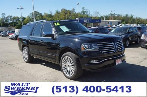 2016 Lincoln Navigator L for sale in Cincinnati, OH