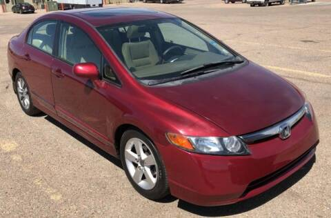 2008 Honda Civic for sale at R Lamar Cars LLC in Colorado Springs CO