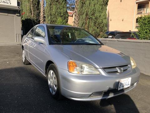 2001 Honda Civic for sale in Pasadena, CA