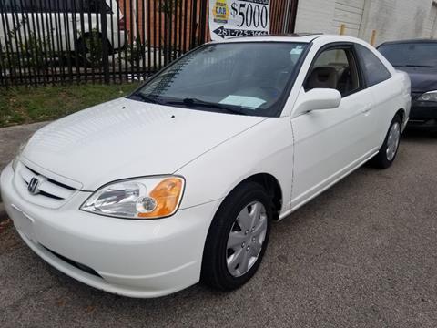 2002 Honda Civic for sale in Houston, TX