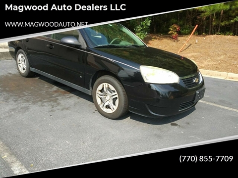 Chevrolet Dealers In Ga >> Chevrolet Malibu For Sale In Jonesboro Ga Magwood Auto
