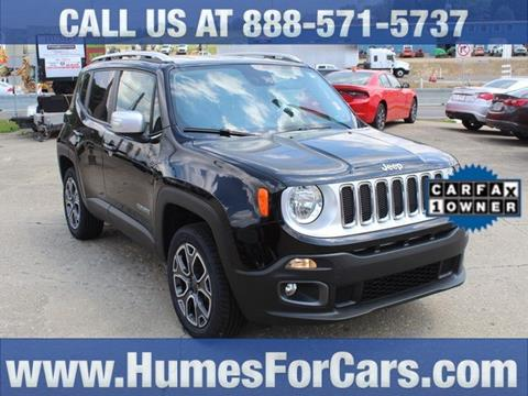 2015 Jeep Renegade for sale in Waterford, PA