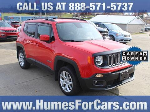 2017 Jeep Renegade for sale in Waterford, PA