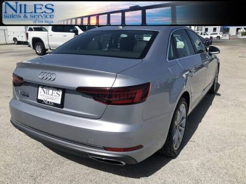 2019 Audi A4 for sale at Niles Sales and Service in Key West FL