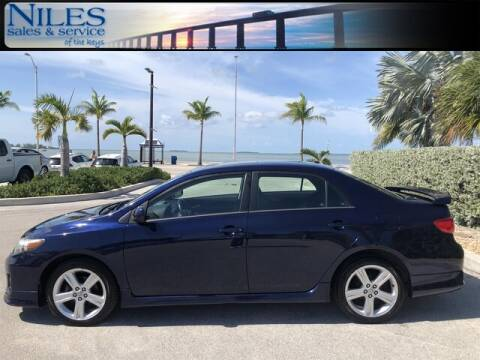 2013 Toyota Corolla for sale at Niles Sales and Service in Key West FL