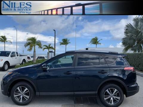 2017 Toyota RAV4 for sale at Niles Sales and Service in Key West FL