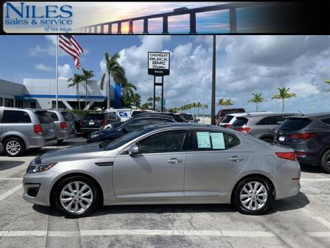 2014 Kia Optima for sale at Niles Sales and Service in Key West FL