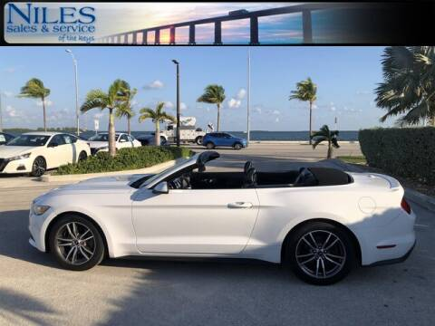 2016 Ford Mustang for sale at Niles Sales and Service in Key West FL