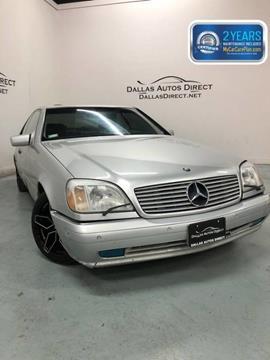 1999 Mercedes-Benz CL-Class for sale in Carrollton, TX