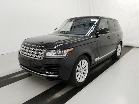 2016 Land Rover Range Rover for sale in Carrollton, TX