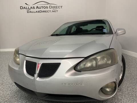 2004 Pontiac Grand Prix for sale in Carrollton, TX