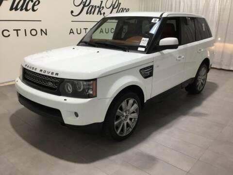 2013 Land Rover Range Rover Sport HSE LUX for sale at Dallas Autos Direct in Carrollton TX