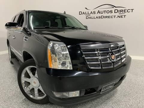 2013 Cadillac Escalade Luxury for sale at Dallas Autos Direct in Carrollton TX
