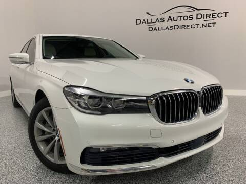 2016 BMW 7 Series 740i for sale at Dallas Autos Direct in Carrollton TX