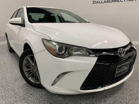 2016 Toyota Camry SE for sale at Dallas Autos Direct in Carrollton TX