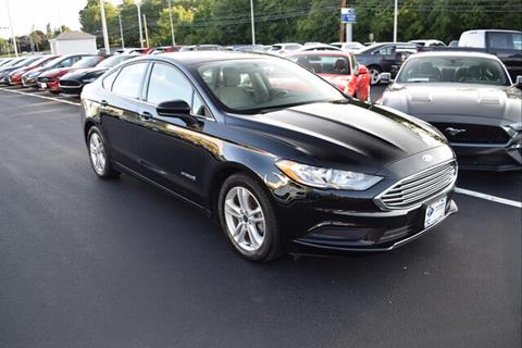 2018 Ford Fusion Hybrid for sale in East Greenwich, RI
