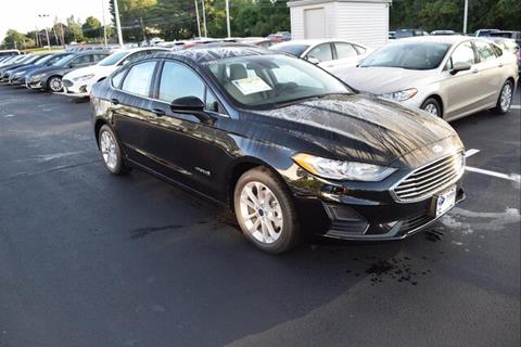 2019 Ford Fusion Hybrid for sale in East Greenwich, RI