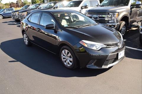 2015 Toyota Corolla for sale in East Greenwich, RI