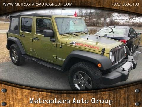 2010 Jeep Wrangler Unlimited for sale in Hamburg, NJ