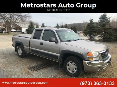 2003 GMC Sierra 1500 for sale in Hamburg, NJ