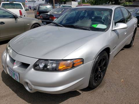 2001 Pontiac Bonneville for sale in Springfield, OR