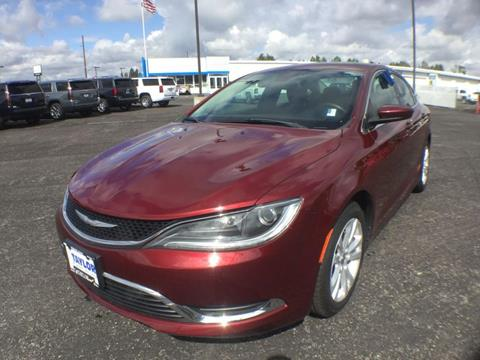 2016 Chrysler 200 for sale in Rexburg, ID