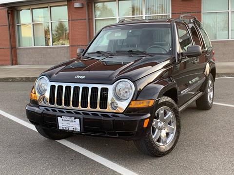 2007 Jeep Liberty for sale in Lakewood, WA