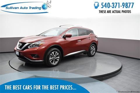 2018 Nissan Murano for sale in Fredericksburg, VA
