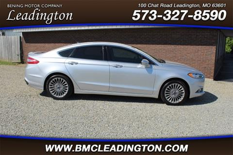 2016 Ford Fusion for sale in Park Hills, MO