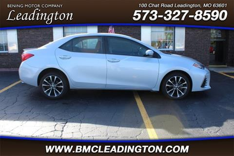 2017 Toyota Corolla for sale in Park Hills, MO