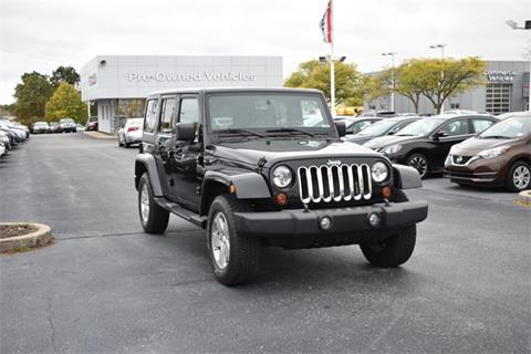 2010 Jeep Wrangler Unlimited for sale in Fort Wayne, IN