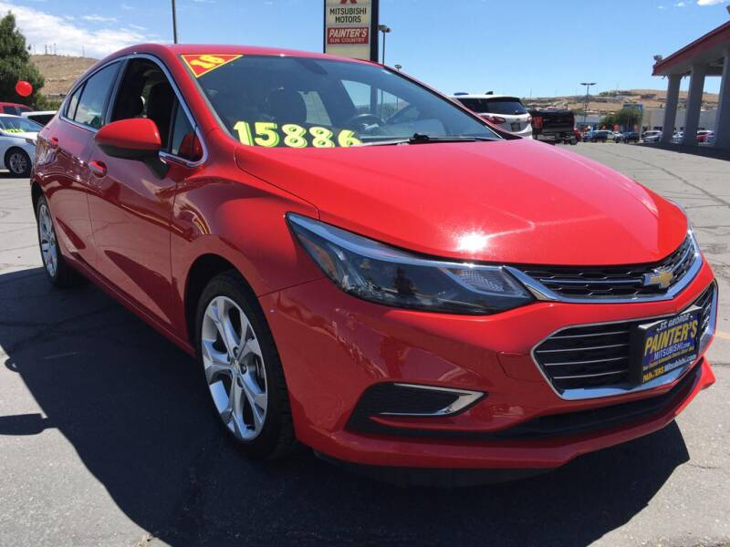 2018 Chevrolet Cruze for sale at Painter's Mitsubishi in Saint George UT