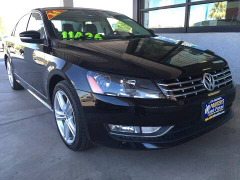 2014 Volkswagen Passat for sale at Painter's Mitsubishi in Saint George UT