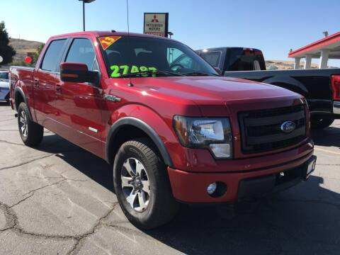 2013 Ford F-150 for sale at Painter's Mitsubishi in Saint George UT