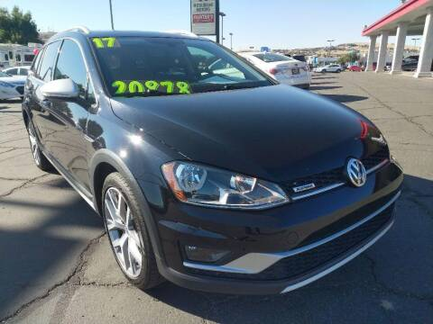 2017 Volkswagen Golf Alltrack for sale at Painter's Mitsubishi in Saint George UT
