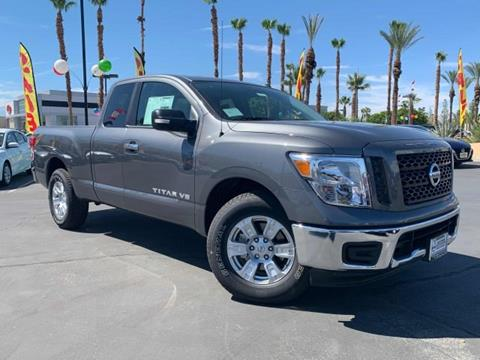 2019 Nissan Titan for sale in Cathedral City, CA