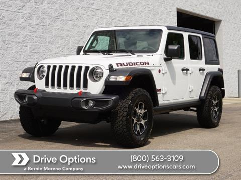 2020 Jeep Wrangler Unlimited for sale in Middleburg Heights, OH