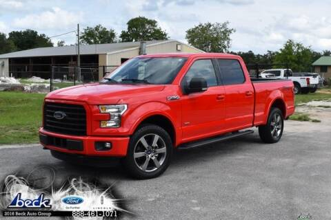 2016 Ford F-150 for sale at BECK FORD LINCOLN in Palatka FL