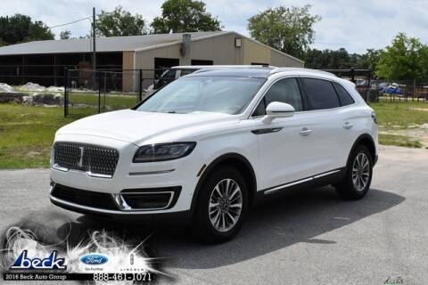 2020 Lincoln Nautilus for sale at BECK FORD LINCOLN in Palatka FL