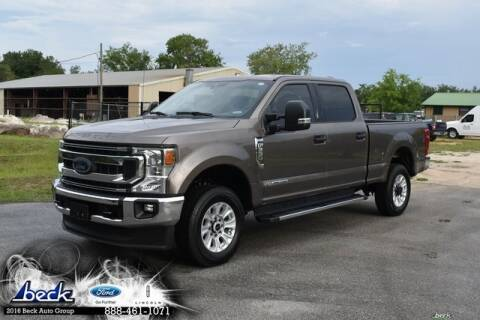 2020 Ford F-350 Super Duty for sale at BECK FORD LINCOLN in Palatka FL