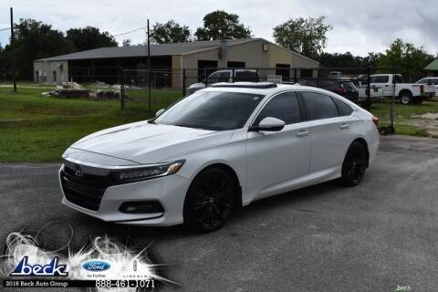 2018 Honda Accord Touring for sale at BECK FORD LINCOLN in Palatka FL