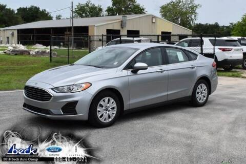 2020 Ford Fusion S for sale at BECK FORD LINCOLN in Palatka FL