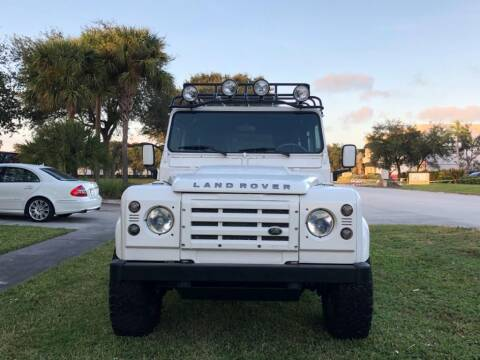 1991 Land Rover Defender for sale at AUTOSPORT in Wellington FL