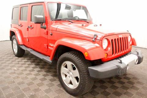 2012 Jeep Wrangler Unlimited for sale in Bedford, OH