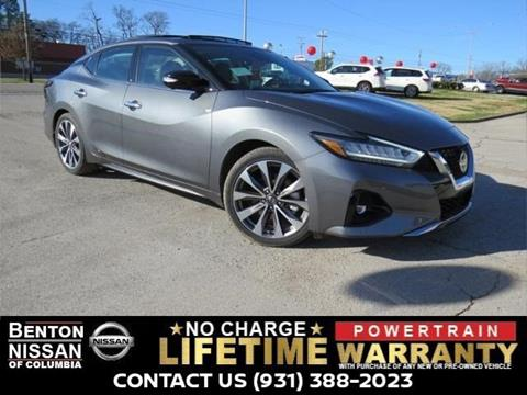 2019 Nissan Maxima for sale in Columbia, TN