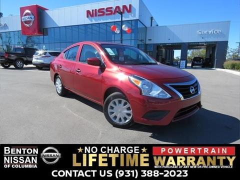 2017 Nissan Versa for sale in Columbia, TN